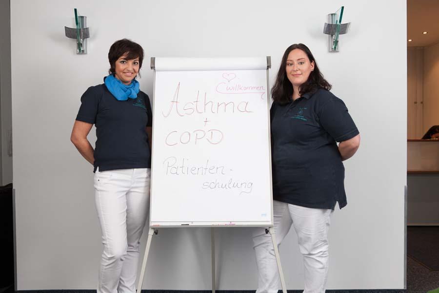 COPD Schulung Lungenarzt München